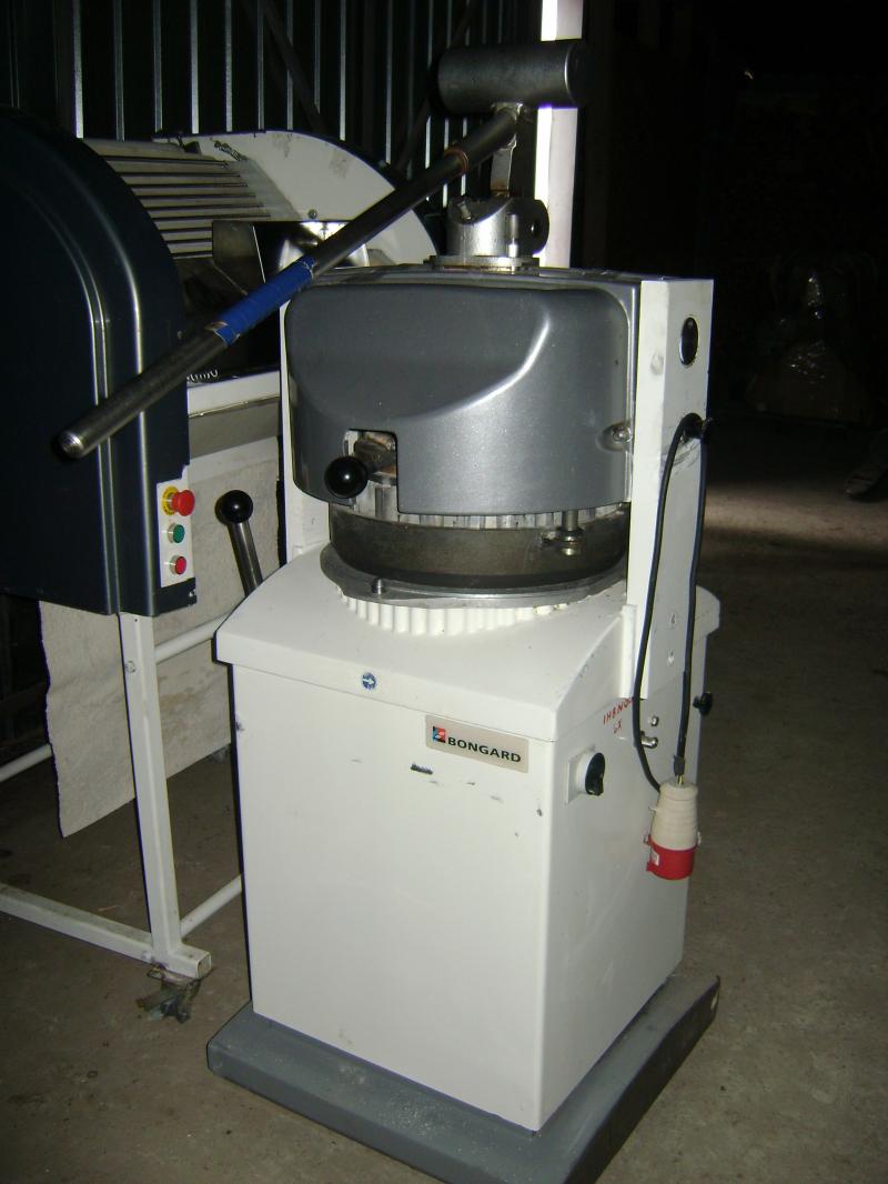 Тестоделитель-округлитель BONGARD тип DB2 30-4 полуавтомат