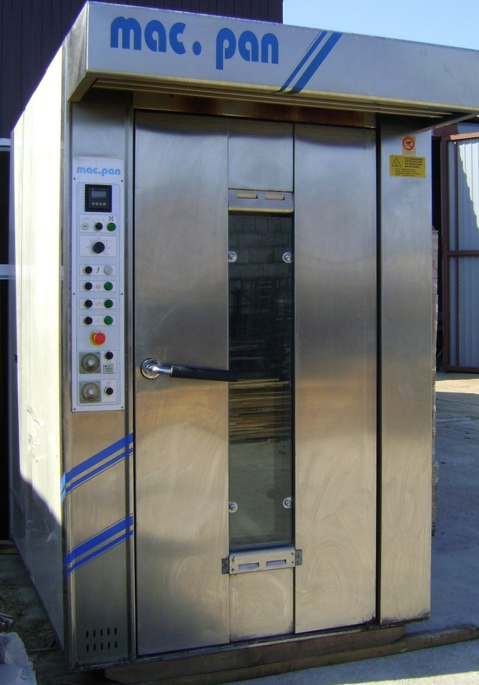 Печь ротационная электрическая Mac.Pan PHANTON 600800