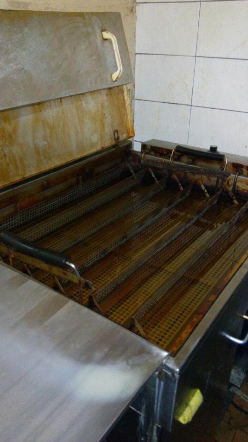 Фритюрница для пончиков «Берлинеров» Jufeba с дополнительным шкафом расстойки (Германия)