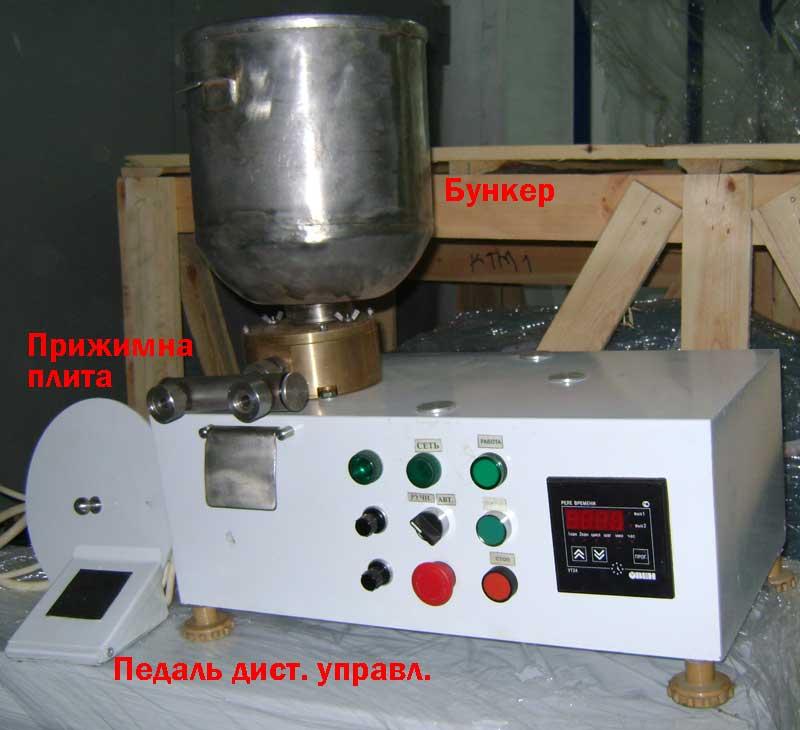Дозатор-наполнитель шестеренчатый