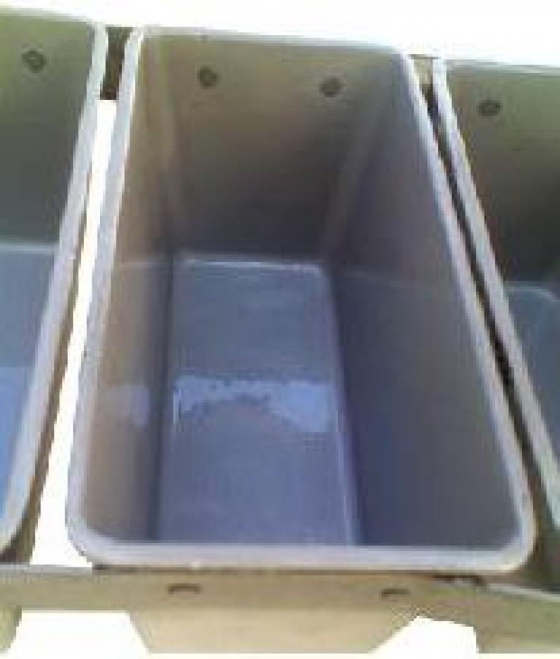 Очистка хлебопекарных форм и нанесение термостойкого полимерного покрытия