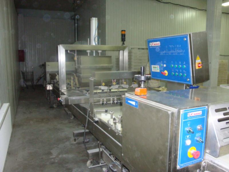 Линия для производства слоеных изделий с начинкой Canol-Line 6500x600, Италия мод. C-L