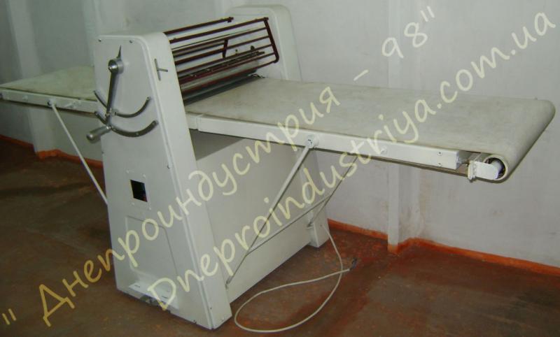 Машина для  раскатки теста   МНРТ-130/600 реверсивная «Малышевская»