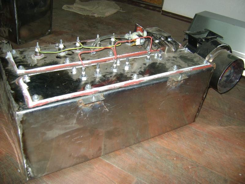 Установка климат-контроль (микроклимат) для расстоечного шкафа.
