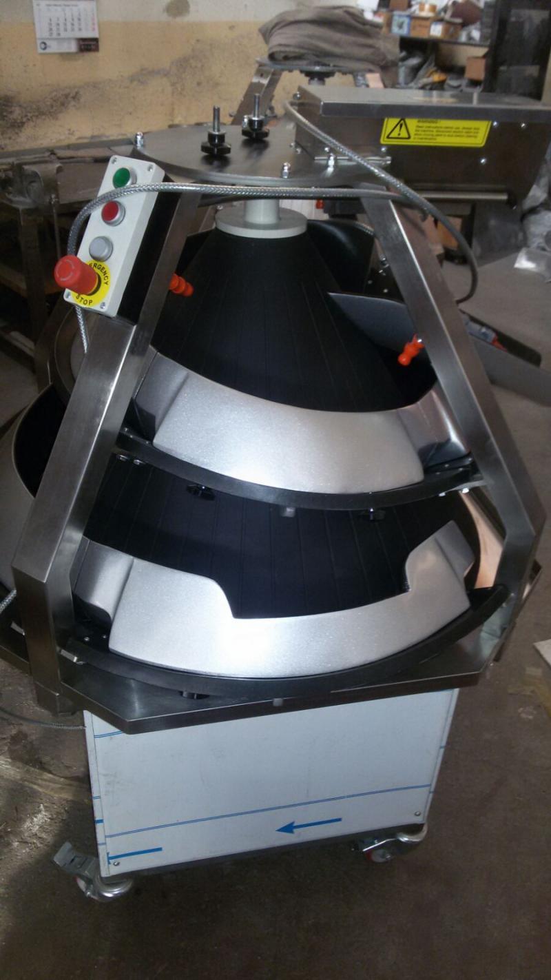 Тестоокруглитель D-KTM 3 Турция тефлон, регул. желобов (новый)